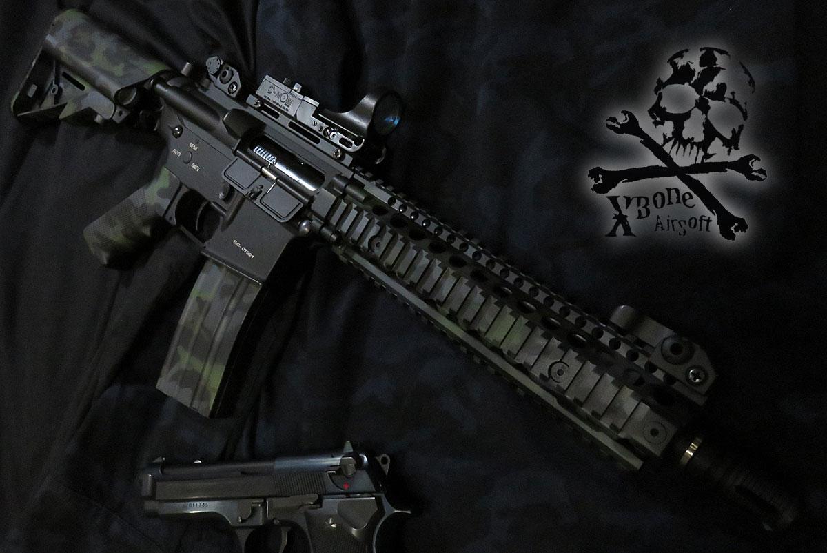 Mk18 Mod1 塗装