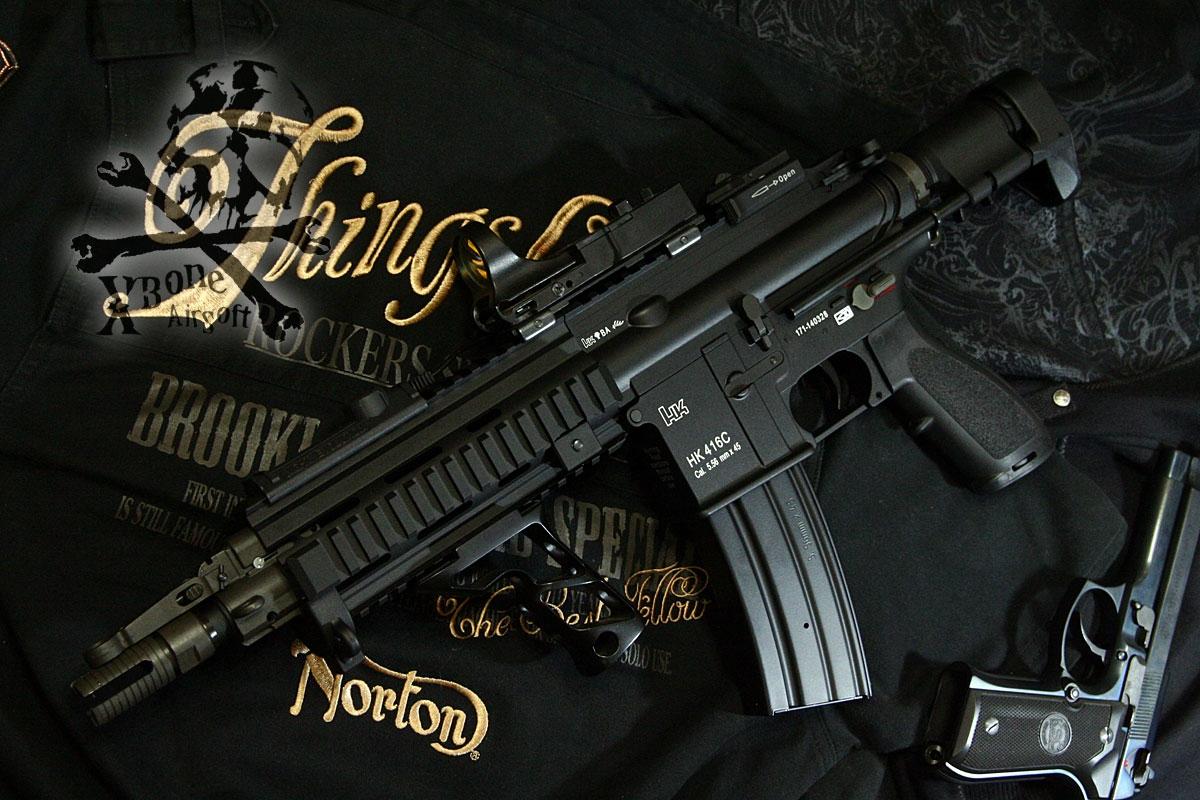 電動ガン HK 416C